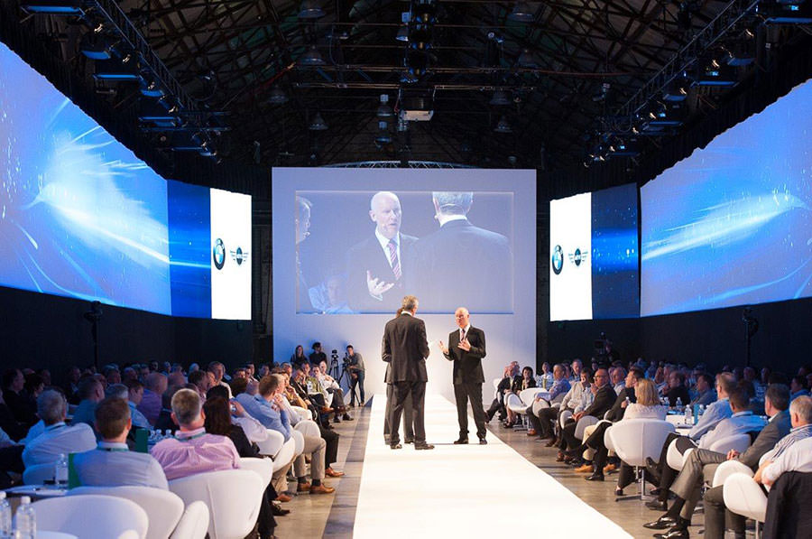 BMW retailers convention demonstrates excellent internal communications